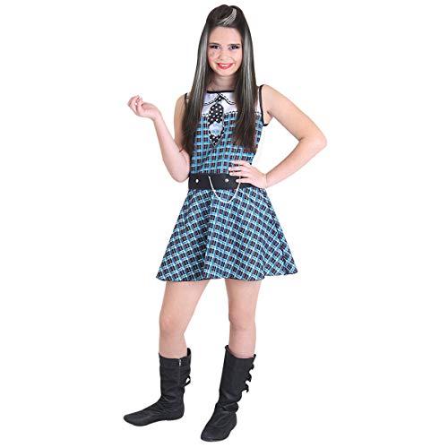 Monster High Frankie Pop Sulamericana Fantasias Azulparareto GG 14/16