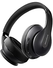 Anker Soundcore Life Q10 Wireless Bluetooth Headphones, Over Ear, Foldable, Hi-Res Certified Sound, 60-Hour Playtime, Fast USB-C Charging, Deep Bass, for Travel, Online Class, Home Office (Black)