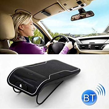 Uniqus LD-158 Sun Visor Clip Wireless blueetooth V3.0 Handsfree Car Kit Speaker Speakerphone