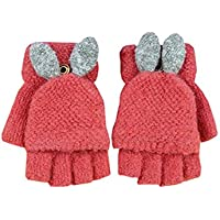 Baby Boys Girls Gloves,Kids Winter Gloves, Warm Mittens With Mitten Cover By AYUBOOM
