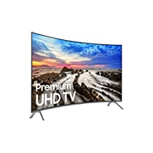 Samsung Electronics UN55MU8500 Curved 55-Inch 4K Ultra HD Smart LED TV (2017 Model)