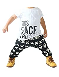 Newborn Baby Boy Clothes Set Summer This Face Tho T shirt Cross Pants Outfit Set