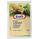 Kraft Creamy Caesar Dressing Packets, 40 mL Packets (Pack of 100)