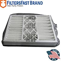 FiltersFast Compatible Replacement for Trane 21 x 27 x 5 (Actual Size: 20.6 x 26 1/4 x 5) Perfect Fit Filter BAYFTFR21M MERV13 2-Pack