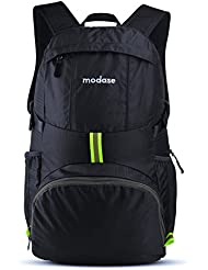modase Large 35L Travel Backpack Durable Travel Hiking Backpack Daypack - Water Resistant Lightweight Packable...