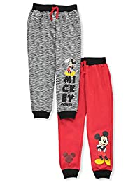 Mickey Mouse and the Roadster Racers Boys' 2-Pack Fleece Joggers