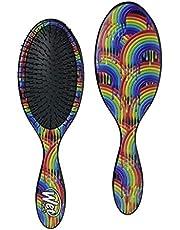 Wet Brush Original Detangler with Ultra-Soft Bristles for Women, Men and Kids, Gentle Detangle for Wet or Dry Hair-, Rainbow Drizzle