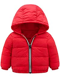 M/&A Boys Winter Bubble Puffer Jacket Coat Warm Padded Thick Outwear