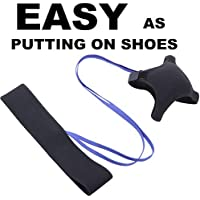LuxSports Easy-Goal Soccer Trainer, Hands Free Solo...