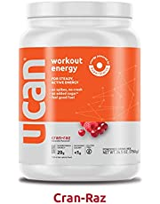 UCAN Workout Energy Powder (26.5oz, 30 Servings) - No Added Sugar, Gluten Free, Vegan, Pre- and Post-Workout Drink, Keto Friendly