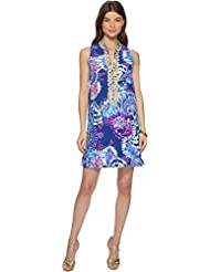 Lilly Pulitzer Womens Jane Shift Deep Indigo Gypsea Girl 0