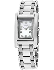 Fendi Womens mother-of-pearl dial, stainless-steel bracelet watch F775240DXG (Certified Refurbished)