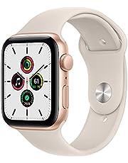 $349 » Apple Watch SE (GPS, 44mm) - Gold Aluminium Case with Starlight Sport Band - Regular