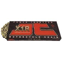 JT Sprockets (JTC520X1RGB110RL) Gold/Black 110-Link 520 X1R Heavy Duty X-Ring Drive Chain