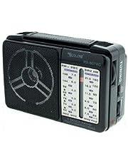راديو كلاسيك كهربائي صغير 607 - اسود