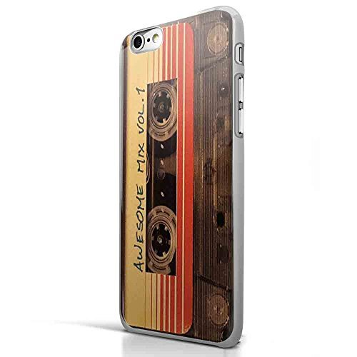 Awesome Mix Vol 1 Original Soundtrack Guardians of Galaxy for Iphone and Samsung Galaxy Case (iPhone 6 plus White)