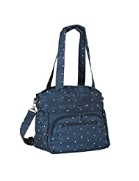 Lug Women's Windjammer Everday Travel Tote, Navy Dot, One Size