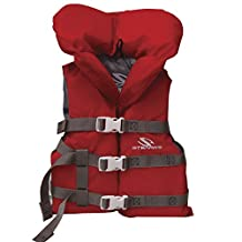 Stearns 2000020638 Youth Nylon Vest, Red