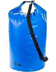 Xcase Wasserdichter Sack: Wasserdichter Packsack 70 Liter, blau (Schwimmbeutel wasserdicht)