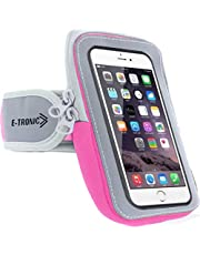 Universal Phone Holder for Running : Phone Armband Sleeve Workout Gear Arm Pouch Case & Bag for Apple iPhone 6 7 7S 8 8S Plus X XS XR MAX & Galaxy Note 7 8 9 - All Plus Sized Phones UP to 6.4 INCHES
