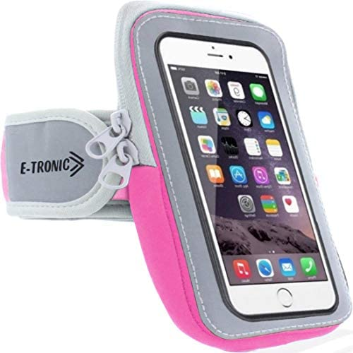 Arm Phone Holder for Running : Phone Armband Sleeve Workout Gear Pouch Case Bag for Apple iPhone 5 6 7 SEVEN 8 EIGHT X XS XR & Android Galaxy S6 S7 S8 S9 S10 10 Pixel & All Phones 5.9 INCH Screens & Under