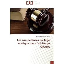COMPÉTENCES DU JUGE ÉTATIQUE DANS LARBIT (LES)