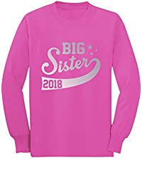 Big Sister Est 2018 - Sibling Gift Idea Toddler/Kids Long Sleeve T-Shirt