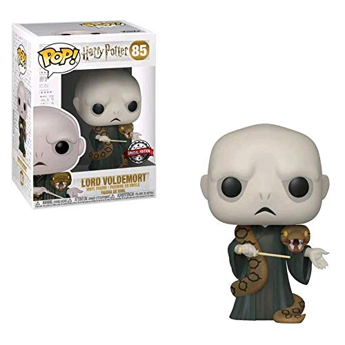 Funko Figura de Harry Potter Lord Voldemort con Nagini Pop No 85 Vinilo 1
