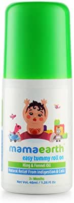 Mamaearth Easy Tummy Roll On with Fennel for Digestion and Body Relief for Kids and Babies, Made in The Himalayas- All Natural with Organic Ingredients