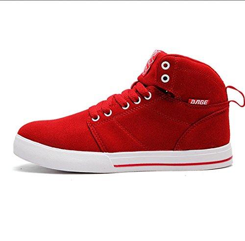 W&P Couple high shoes help shoes high winter shoes for men and women plus fleece warm shoes casual shoes snow shoes B01LVTGMCH Shoes e87191