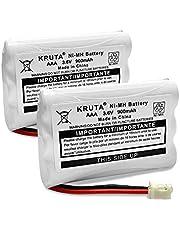 Kruta 900mah Replacement Battery for Motorola Baby Monitor MBP33 MBP33S MBP36S MBP-33S MBP-36S MBP33BU MBP33P MBP35 MBP35T MBP36 MBP36PU MBP41 MBP41BU MBP41PU MBP43 MBP43BU