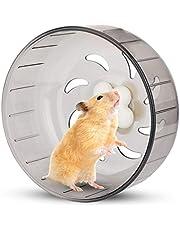 Hamster löparhjul 13 cm hamsterhjul litet husdjur hamster träningshjul tyst plast löparleksak för små djur hamster gerbil marsvin