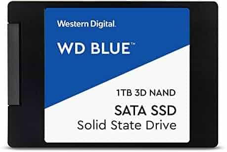 WD Blue 3D NAND 1TB PC SSD - SATA III 6 Gb/s, 2.5