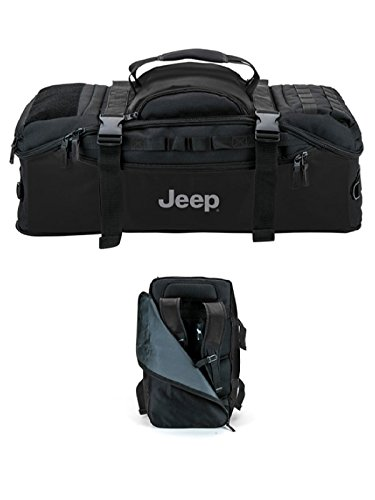 Jeep Basecamp Convertible Backpack/Duffle