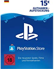 PSN Card-Aufstockung | 15 EUR | deutsches Konto | PSN Download Code