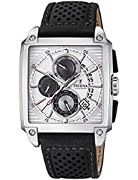 Mens Watch Festina - F20265/1 - Chronograph - Date - Leather Band