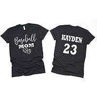 Baseball Mom- Baseball Mom Shirts For Women- Baseball Mom Shirt- Glitter Baseball Mom Shirt Unisex Fit- New Design