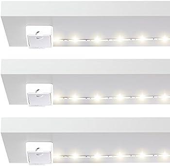 3 Pack 2700K Luminoodle Click Strip Lights