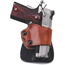 Galco Yaqui Paddle Holster for 1911 3-Inch-5-Inch Colt, Kimber, Para, Springfield, Kahr, Walther P22
