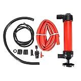 Etopar Portable Manual Car Siphon Pump Fuel Gas Transfer Oil Liquid Hand Air Pumps Kit Water Gasoline compressor Hose Change