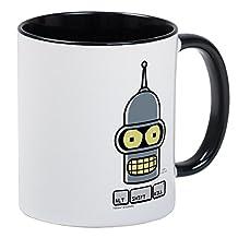 CafePress - Futurama Alt Shift Kill Mug - Unique Coffee Mug, Coffee Cup