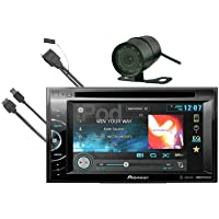 Pioneer AVH-X2500BT In-Dash 6.1 Touchscreen DVD/USB/MP3 Car Stereo Receiver with Bluetooth, iPod Controls (FREE I-POD CABLE & REAR VIEW CAMERA)