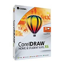 Corel draw Home And Student Suite X6 - 3 Users