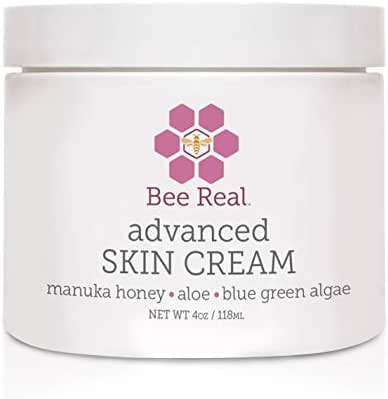 Manuka Honey and Aloe Vera Skin Cream. Amazing Product for Face, Hands and Body To Help Redness, Rash, Dry, Itching and Sensitive Skin (4 0z)