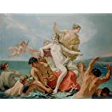 Canvas Prints Of Oil Painting 'Triumph Of The Marine Venus, About 1713 By Sebastiano Ricci' 20 x 26 inch / 51 x 66 cm , Polyster Canvas Is For Gifts And Bar, Garage And Study Room Decoration, images