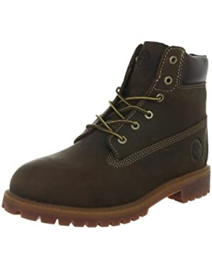 Authentic 6 Inch Brown Youths Boots