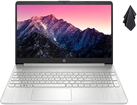 "2021 Newest HP Pavilion Laptop, 15.6"" HD Display, AMD Athlon Gold 3150U Processor Up to a few.3GHz, Webcam, HDMI, Compact Design, Long Battery Life, Win 10 + Oydisen Cloth (8GB RAM | 256GB SSD)"