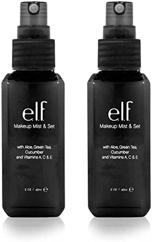 e.l.f. Makeup Mist and Set, Clear, 2.02 Ounce, 2 Pack