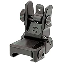 UTG Low Profile Flip-up Rear Sight with Dual Aiming Aperture