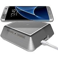Zunion Mini Hybride Smartphone Wireless Charger Plasma Ionizer Air Purifier IA300W
